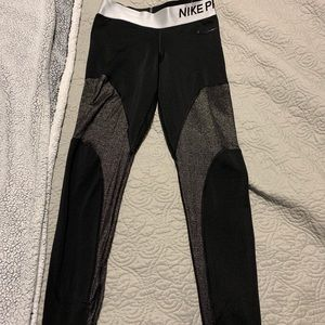 Nike athletic tights.